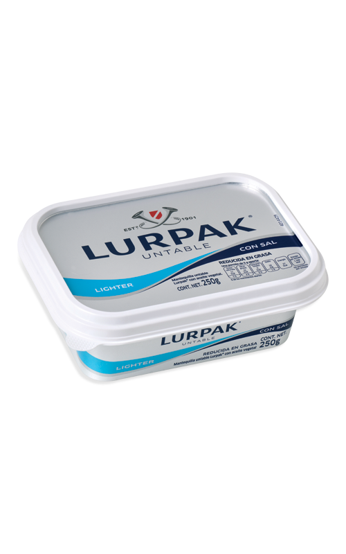 Lurpak® Mantequilla Untable Lighter con Sal 250g
