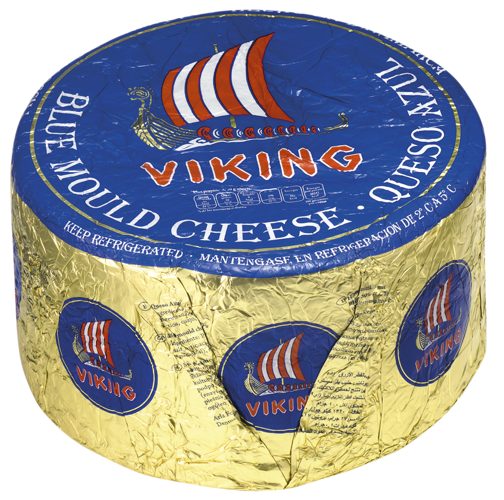 Viking® 50+ Viking Blue mould cheese rnd. 3kg